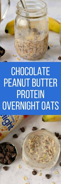 chocolate.peanut.butter.overnight.oats #DelightfulMoments #SplashOfDelight #ad @indelight @walmart