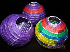 Tangled Birthday Party Lanterns