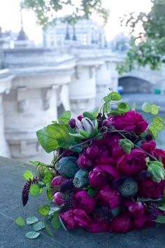 Peonies in Paris.....two of my favorite things