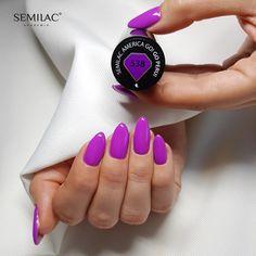 Próbáld ki te is a Semilac professzionális körömápolási termékeit már Magyarországon is ! www.semilac.hu Hot Nails, Hair And Nails, Navy Acrylic Nails, Nail Ring, Autumn Nails, Nail Bar, Glitz And Glam, Perfect Nails, Shellac