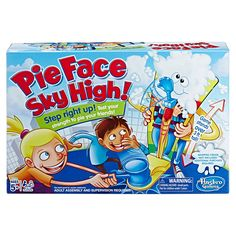 Buy Pie Face Sky High at Mighty Ape NZ. Pie Face Sky High – Party game The Pie Face Sky High game lets players test their strength as they attempt to give their opponent a face full of whip. Pie Face Game, V Smile, Rockets Game, Carnival Games, Sky High, Party Games, Games To Play, Board Games, Video Game