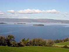Lough Derg Galway Ireland. Loch Deirgeirt