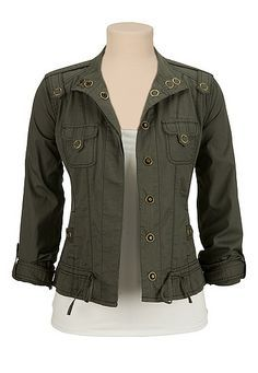 Love this jacket!!! Just needs to be in a different color.