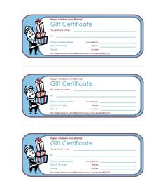 Gift Certificates Samples Mesmerizing 44 Free Printable Gift Certificate Templates For Word & Pdf .