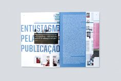 Pli is a magazine about contemporary design and critique, by Atelier Martinoña