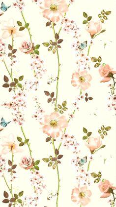 Pretty Phone Wallpaper, Flower Background Wallpaper, Pretty Wallpapers, Love Wallpaper, Cellphone Wallpaper, Pattern Wallpaper, Iphone Wallpaper, Flower Backgrounds, Wallpaper Backgrounds