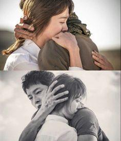 descendants of the sun Drama Korea, Korean Drama, Descendants Of The Sun Wallpaper, Decendants Of The Sun, Song Joon Ki, Songsong Couple, Drama Fever, Wedding Couple Poses Photography, Best Dramas