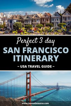 Your guide to everything you need to know to plan your perfect 3 days in San Francisco itinerary! . Things to do in San Francisco, Things to do in California, places to visit in California, where to go in California, What to do in San Francisco, places to visit in San Francisco, where to go in San Francisco, Attractions in San Francisco, San Francisco Travel Guide. #California #SanFrancisco #thingstodoinsanfrancisco Group Travel, Family Travel, San Francisco Travel Guide, Stuff To Do, Things To Do, Bucket List Family, Family Road Trips, United States Travel, Romantic Getaway