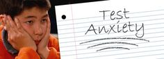 An explanation of what test anxiety is and tips for relieving it.