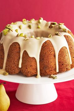 This delicious Hanukkah dessert is a mix of fresh fruit and sweet spices. It's one of our favorite pistachio Hanukkah recipes. #hanukkah #hanukkahrecipes #hanukkahfood #traditionalrecipes #dinner #bhg Hanukkah Food, Hanukkah Recipes, Holiday Recipes, Great Recipes, Sweet Spice, Angel Food Cake, Roasted Carrots, Challah, Pistachio