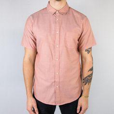 dce497dc65 Life After Denim - Oxford Short Sleeve Shirt Terra Cotta