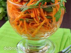 Špeciálny mrkvový šalát s pomarančom