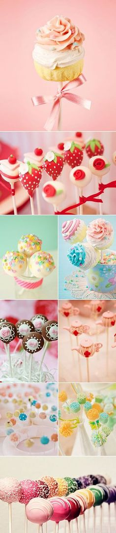 Super cute cakepop insprations Easy Guide to Making Awesome Cake Pops [Video + 19 Mouth Watering Ideas]