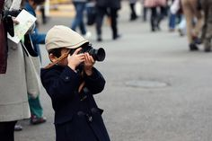 the little photographer in Japan!