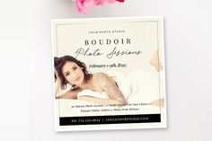 Boudoir Mini Session Template by By Stephanie Design on @Graphicsauthor
