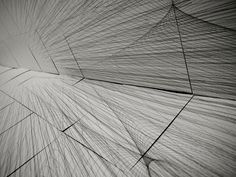 Inhabiting a drawing. BOUNDERIES, a 26' x 13' installation by Architect Joseph Choma of Design Topology Lab, a research platform dedicated to the ontology of space defined by mathematics.
