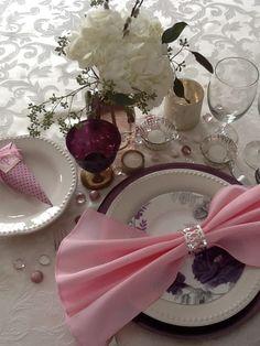 My Valentine Dinner Placesetting 2014