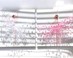 Pequeños bailarines vivero arte conjunto, habitación decoración niña, bailarinas en tutús rosas y blancos, bailarines de Ballet pintura, linda bailarina vivero Decor