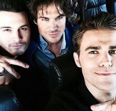 Ian con Paul y Michael
