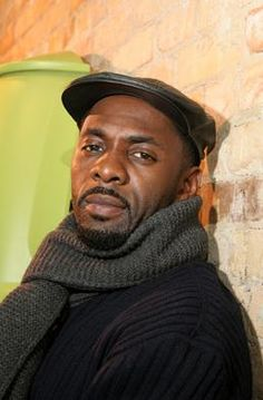 Idris Elba. I think he's so cute! And I like his style.
