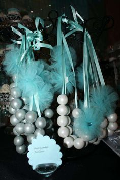 Damask and Tiffany Blue Bridal/Wedding Shower Party Ideas | Photo 1 of 45 | Catch My Party