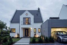 Zeitgemäße Architektur mit modernster Technik - Plusenergiehaus mit regenerativer Wärmetechnik