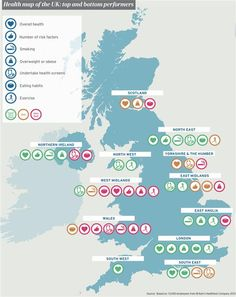 Health Map Of The Uk