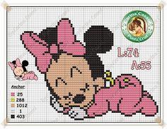 Minnie-bebê-dormindo-Ponto-Cruz-1120x680 Minnie em Ponto Cruz