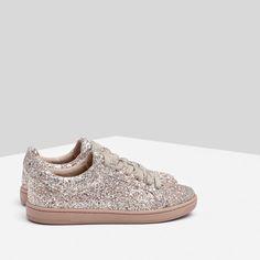 TENNIS À PAILLETTES-Baskets-Chaussures-FEMME | ZARA France