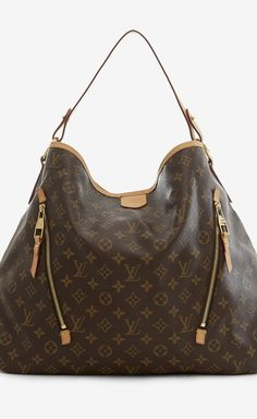 Louis Vuitton Brown And Tan Shoulder Bag | VAUNTE
