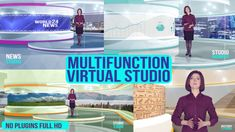 Multifunction virtual studio #Adil777, #Announcer, #Art, #BreakingNews, #BroadcastDesign, #BusinessNews, #History, #IceDisplay, #Infographic, #InstantNews, #Logo, #Presenter, #SportNews, #Travel, #WeatherForecast, #Wildlife https://goo.gl/LXlba2