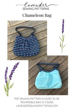 Pdf Sewing Patterns, Chameleon, Purses And Bags, Lavender, Things To Come, Range, Beach, Cookers, The Beach