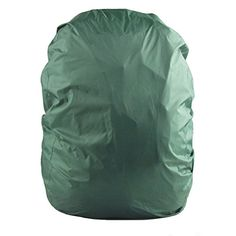 PIXNOR Waterproof Backpack Rain Cover Elastic Dustproof Cover with Carry Bag Green *** You can find more details by visiting the image link.