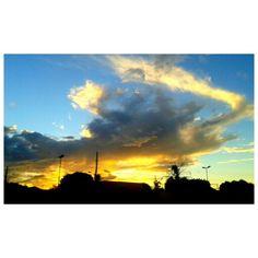 Sunset Rio Brilhante/MS Brazil