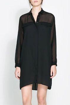 sheer midi blouse| free shipping!  pastel goth nu goth strega dark mori kei gothgoth fachin blouse top sheer under20 under30 free shipping zaful