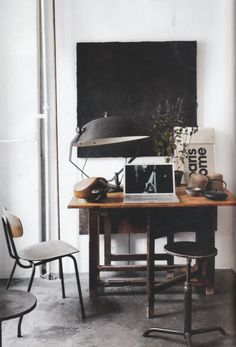 industrial chic office