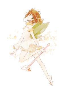 Cardcaptor Sakura | CLAMP | Madhouse / Kinomoto Sakura / 「さくらちゃん」/「LARURI」のイラスト [pixiv]