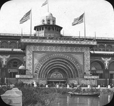World's Columbian Exposition are held in Chicago,  | World's Columbian Exposition: Transportation Building, Chicago, United ...