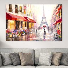 Paris πίνακας σε καμβά Paris, Painting, Montmartre Paris, Painting Art, Paris France, Paintings, Painted Canvas, Drawings