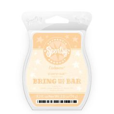 Bring Back My Bar - Cashmere Scentsy Bar: Moroccan jasmine, lily of the valley and bergamot.  laurenf.scentsy.us