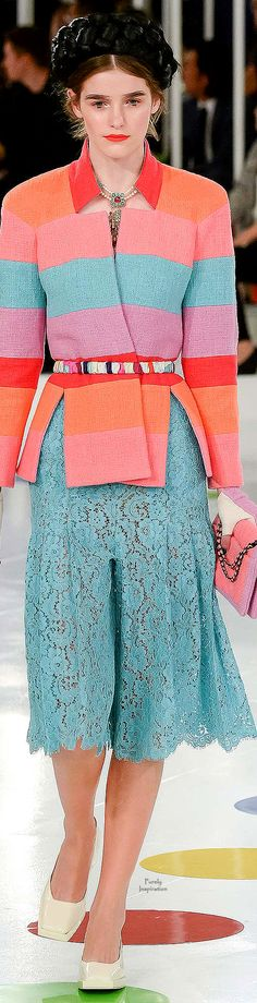 Chanel Resort 2016 | Purely Inspiration http://www.style.com/fashion-shows/resort-2016/chanel