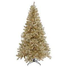 "8' x 53""  Tree 600CL Lights 1673T - Champagne"