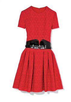 Gigi Hadid: It Girl, It Trend - Alexander McQueen dress