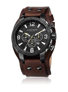 761df2b47db5 Akribos XXIV Reloj de cuarzo Man AK727BKBR 50 mm en Amazon BuyVIP