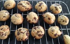Chewy Chocolate Chip Biscuits in the Bellini (BIKM) – Drizzle of Life Chocolate Chip Biscuits, Chocolate Chip Cookies, Egg Free Cakes, Bellini Recipe, Australian Food, Food Allergies, Creative Food, Yummy Treats, Cookie Recipes
