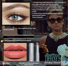 Here's our Breakfast at Tiffany's Makeup Tutorial!