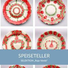 speiseteller_rojoverde_sel Natural Selection, Simple Lines, Tablewares