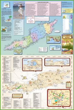 Anguilla Map Has Dune Preserve Marked Anguilla Pinterest - Caribbean anguilla map