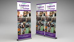 lostock-college-banner Roller Banners, Banner Design, Photo Wall, College, Purple, Frame, Decor, Picture Frame, Photograph