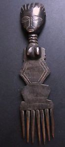 ANCIENNE-SCULPTURE-PEIGNE-HAIRCOMB-ASHANTI-AFRICAN-TRIBAL-ART-AFRICAIN-STATUE